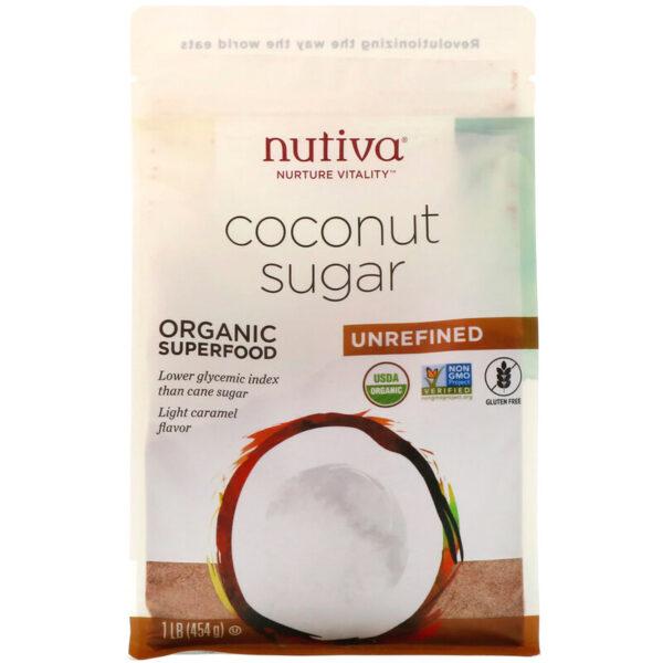 кокосовый сахар Алматы nutiva