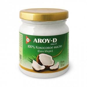 кокосовое масло aroy-d 180ml