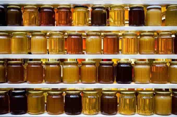 мёд в магазине
