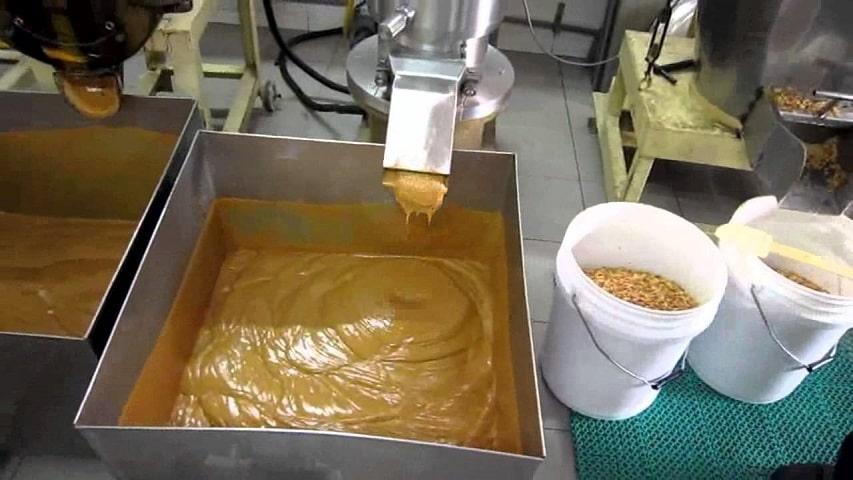 как делается арахисовая паста