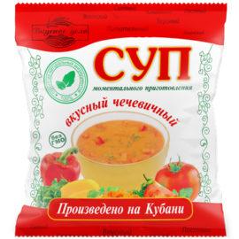 чечевичный суп быстрого приготовления
