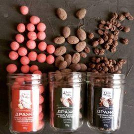 орехи и кофе в шоколаде Алматы