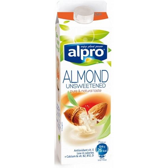 купить миндальное молоко без сахара в Алматы