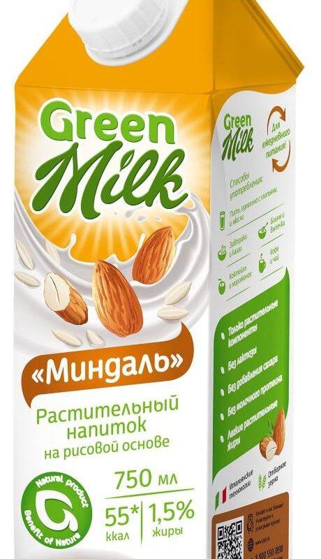 миндальное молоко в Алматы green milk