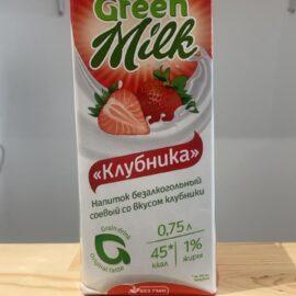 Напиток безалкогольный соевый со вкусом клубники, Алматы