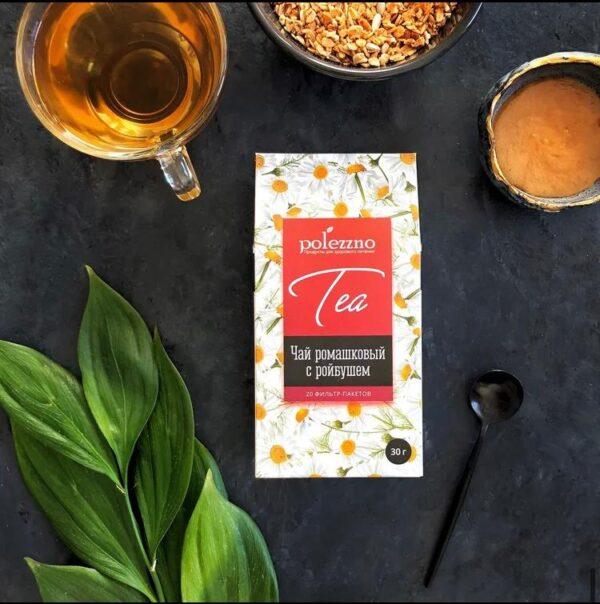 Чай с ромашковый с ройбушем, Алматы